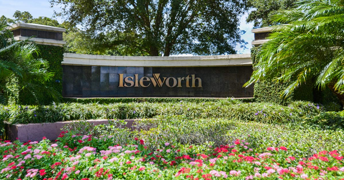 homes for sale isleworth windermere fl
