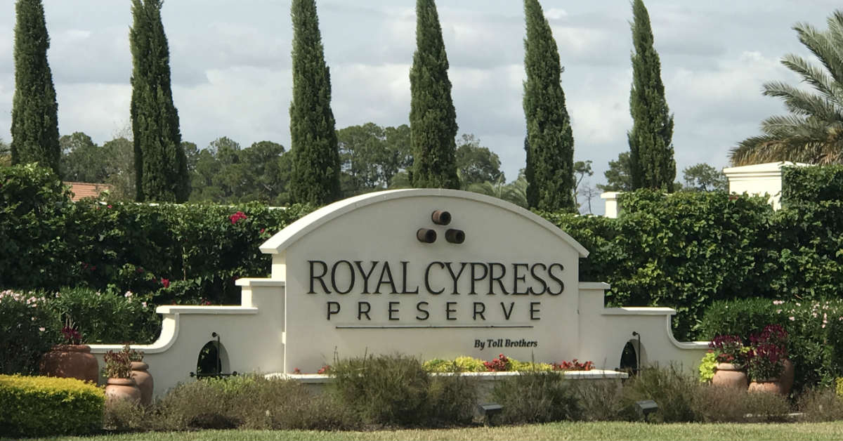 Royal Cypress Preserve
