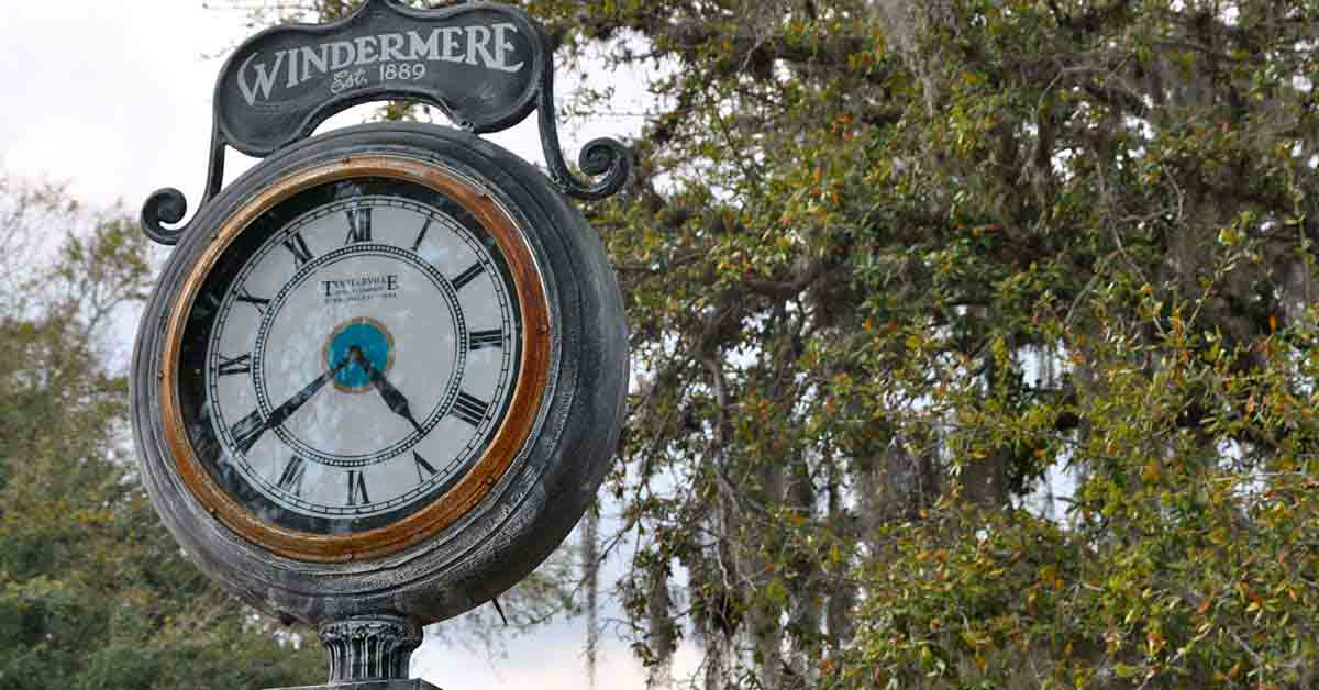 About the Town of Windermere, Florida