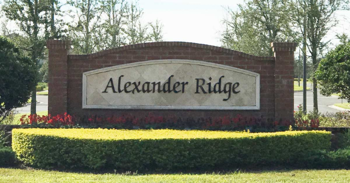 homes for sale alexander ridge winter garden fl