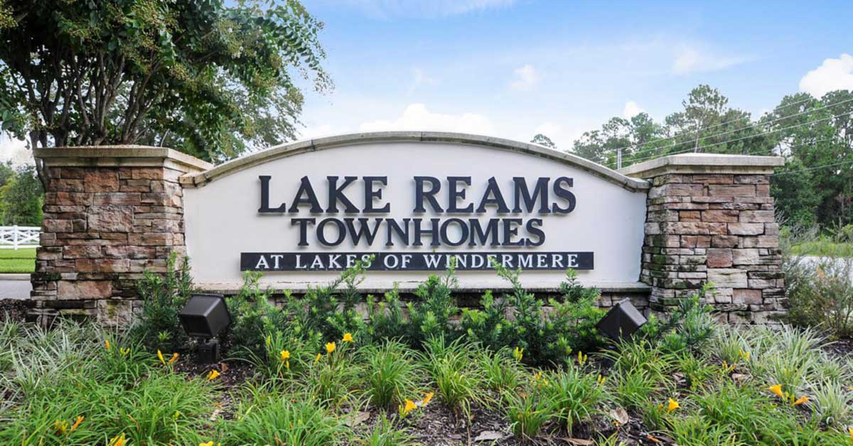 homes for sale lake reams townhomes windermere fl
