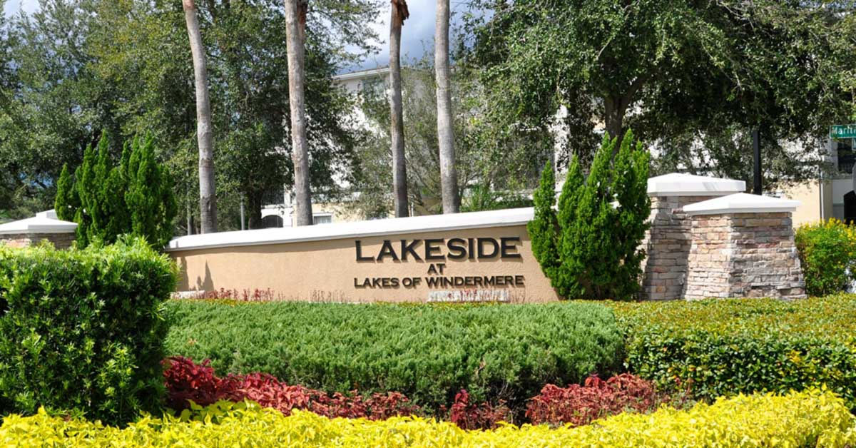 homes for sale lakeside lakes of windermere fl