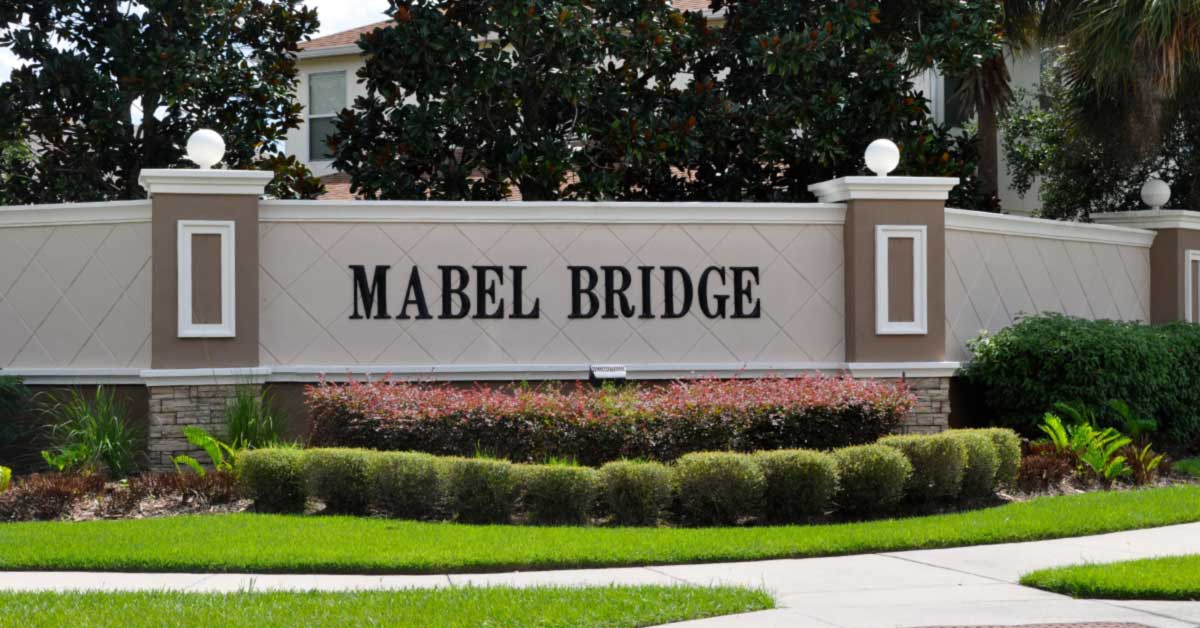 homes for sale mabel bridge orlando fl