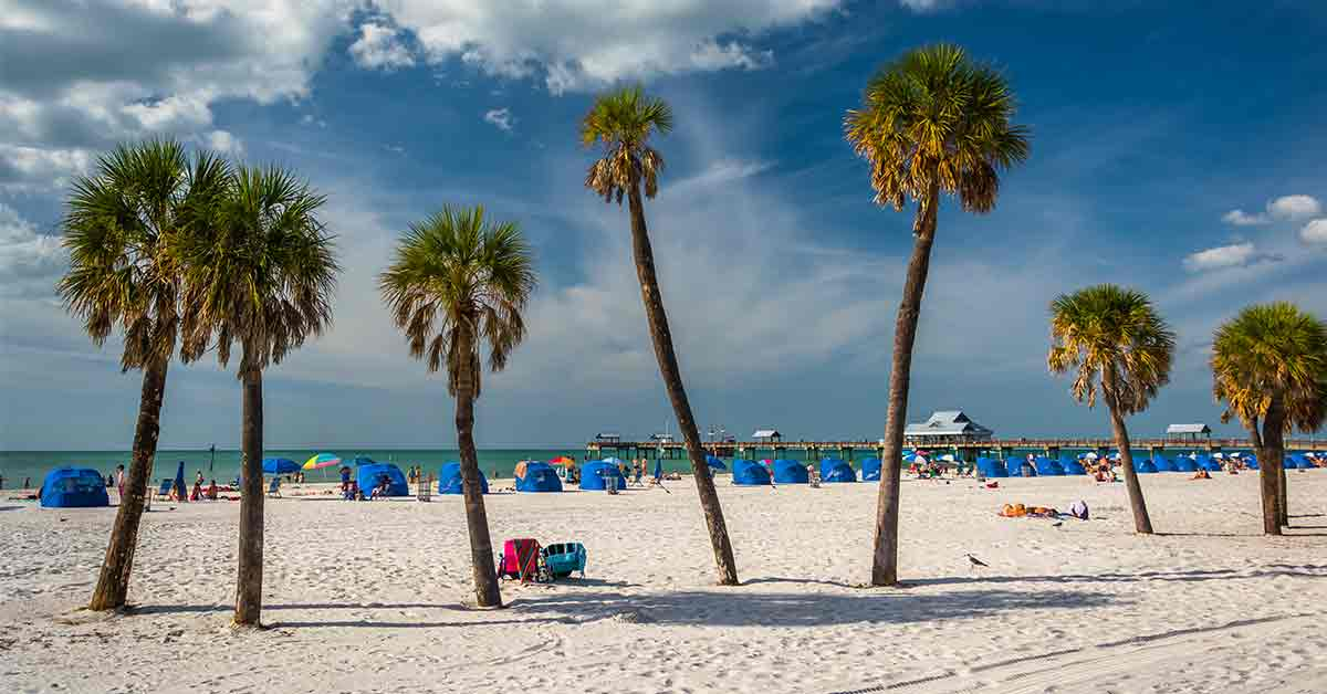 3 Great West Coast Beaches in Central Florida